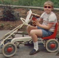 Ein Bild aus frühen Jahren: Mein erstes Fahrzeug