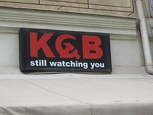Der KGB belauscht uns