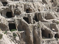 Wardsia: Höhlenstadt in Georgien