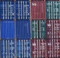 Container im Hafen Rotterdam