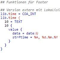 TYPO3 Funktion in TypoScript